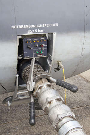 conector refueling of aircraft