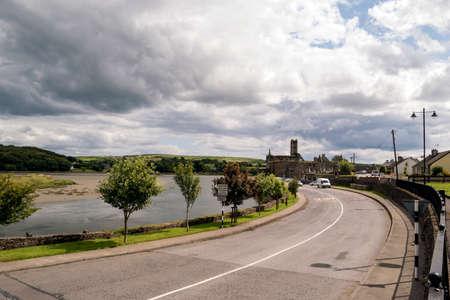 Argideen River flowing into Atlantic Ocean in Timoleague,Co.Cork