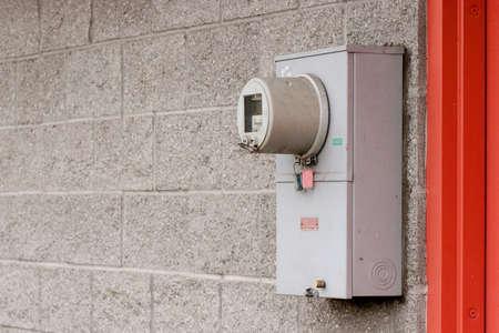 Energy Meter op Wall