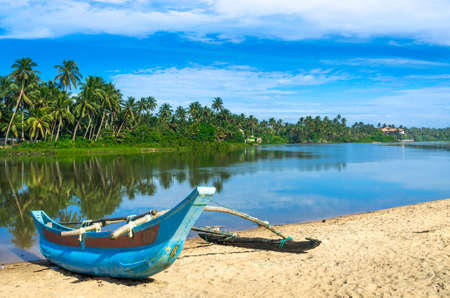 Bentota beach in Sri Lanka