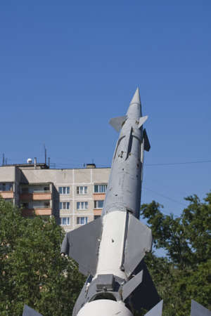 S-125 surface-to-air missile system, museum of military equipment