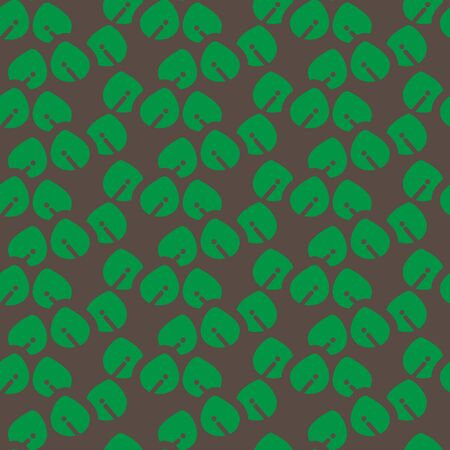 Organic shape leaves graphic pattern are created as a simple style background. This pattern would be useful for web design, shop banner and etc.