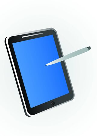 Tablet PC Illustration