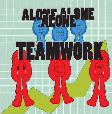 Alone VS Teamwork