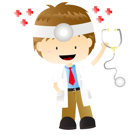 doctor that ready to help people Stock Vector - 16407823