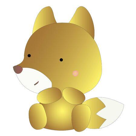 A cute little fox