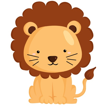 lion tail: Lion Illustration
