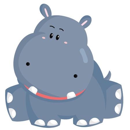 Hippo Illustration