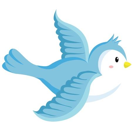 bird fly: Bird Illustration