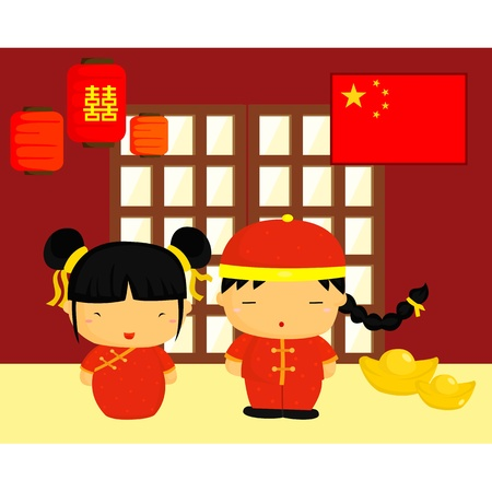 Chinese Culture and Flag
