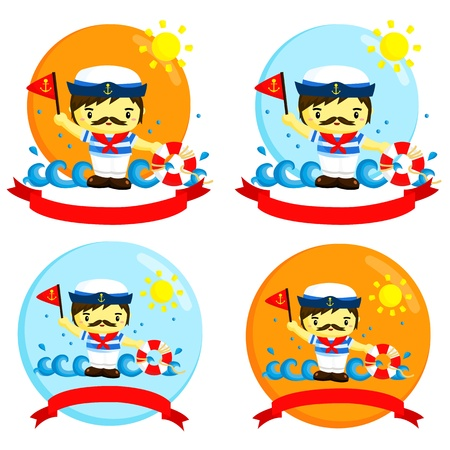 4,820 Sailor Hat Stock Illustrations, Cliparts And Royalty Free ...