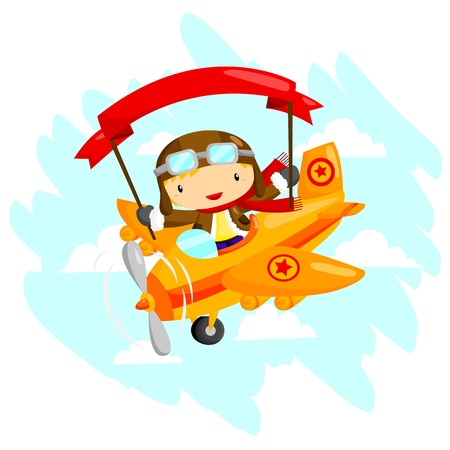 biplane: Pilot