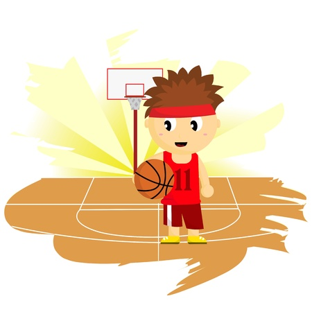 Basketball Player Stock Vector - 19829082