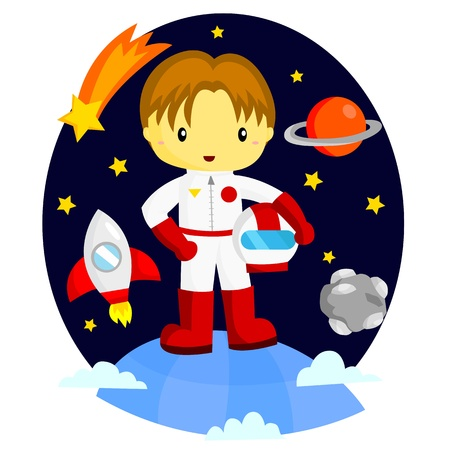 Astronaut Stock Vector - 19829078