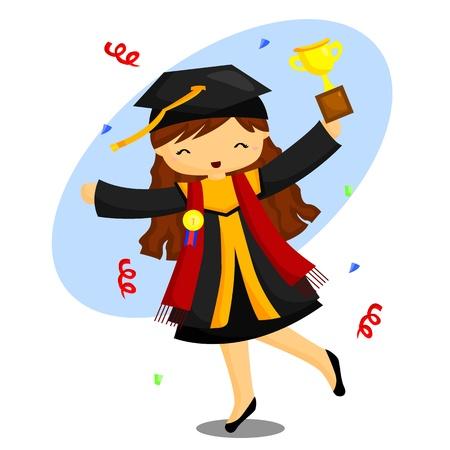 graduation gown: Graduation