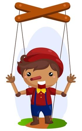 marioneta de madera: Madera Doll
