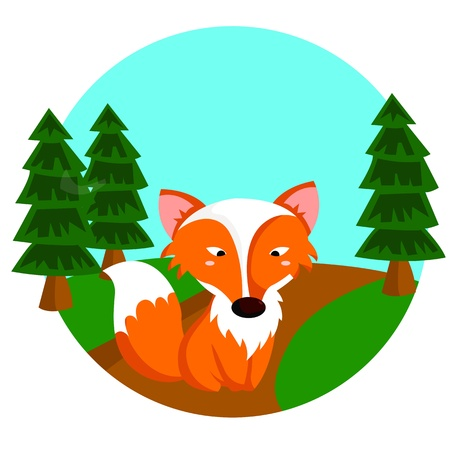 Little Fox Stock Vector - 21051146