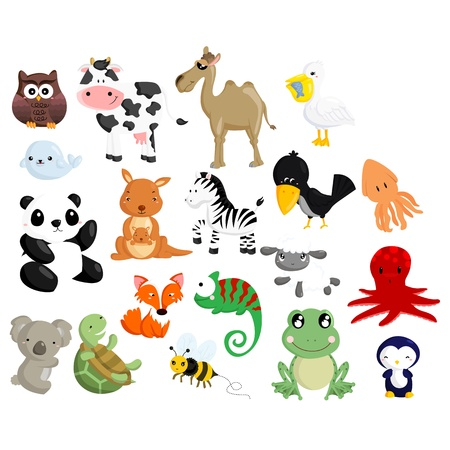 Animal Vector Set 2 Stock Vector - 21051152