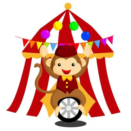 unicycle: Circus Monkey