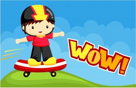skater boy: Skater Boy in the Park
