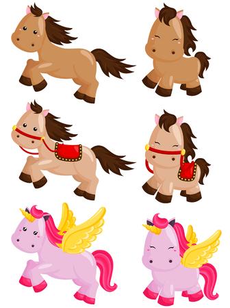 brown horse: Horses
