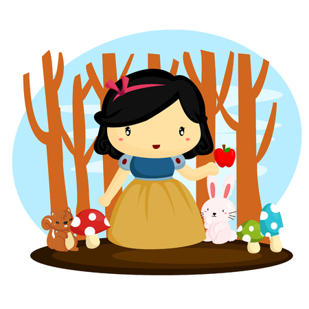 Snow White Vector