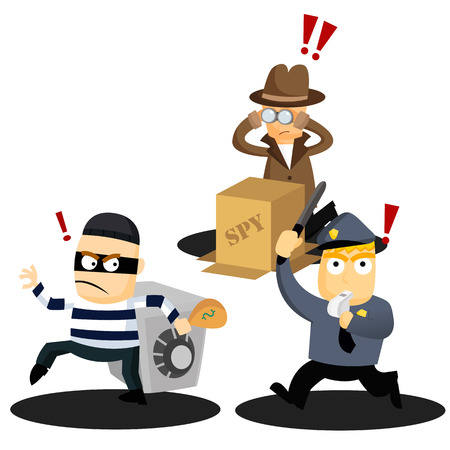 Criminal Act Vector