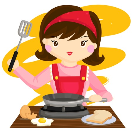 Cooking Mother