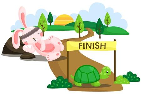 Rabbit and Tortoise