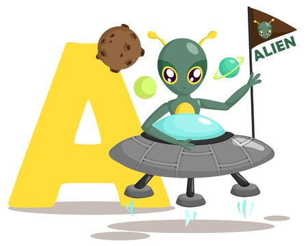 A for Alien Vector