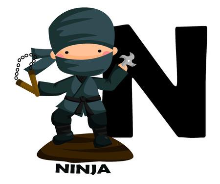 japanese ninja: N for Ninja