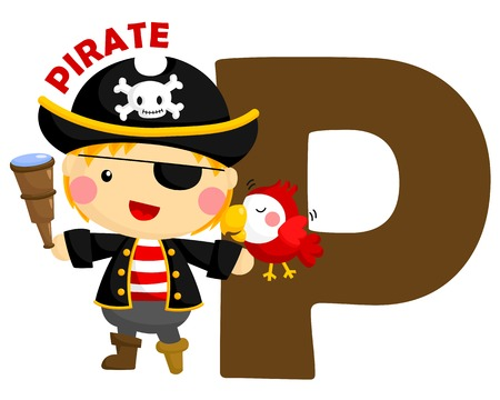 P for Pirate Vector