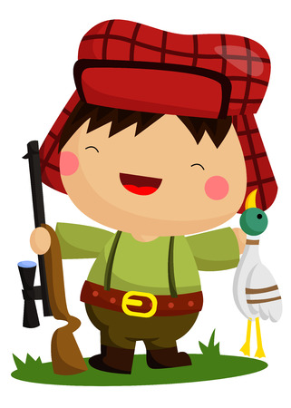 shooter: Hunter Illustration