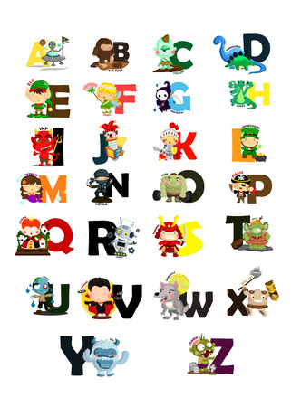 hydra: Character Letter Vector Set