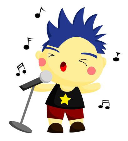 vocalist: Vocalist Illustration