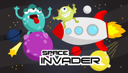 invader: Space Invader Illustration