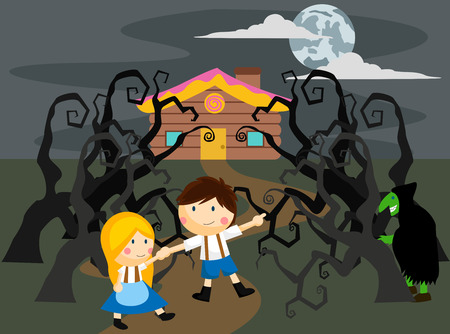 Spooky Hansel and Gretel