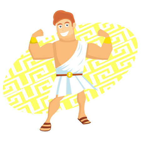 diosa griega: Cartoon Hércules