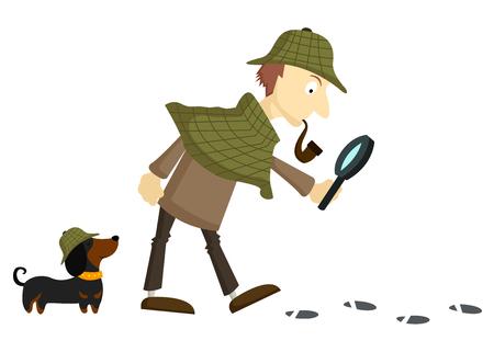 Detective Neutraler Hintergrund