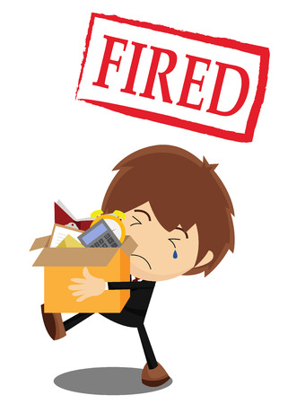 1,096 Fired From Job Stock Vector Illustration And Royalty Free ...