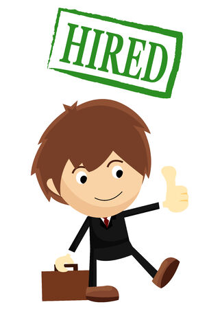 Hired for a Job