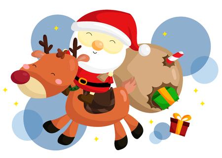 rudolf: Santa and Rudolf