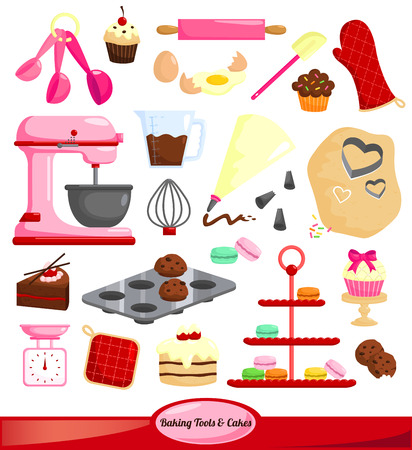 732 Cake Mix Stock Vector Illustration And Royalty Free Cake Mix ...