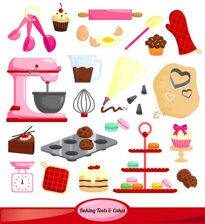 cookie cutter: Baking Set Illustration