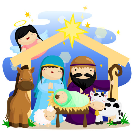 scenes: Christmas Nativity