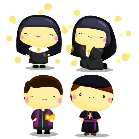 priest: Priest and Nun