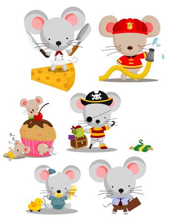 mouse: Mouse Vector Set