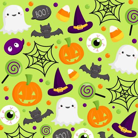 Halloween Background Çizim