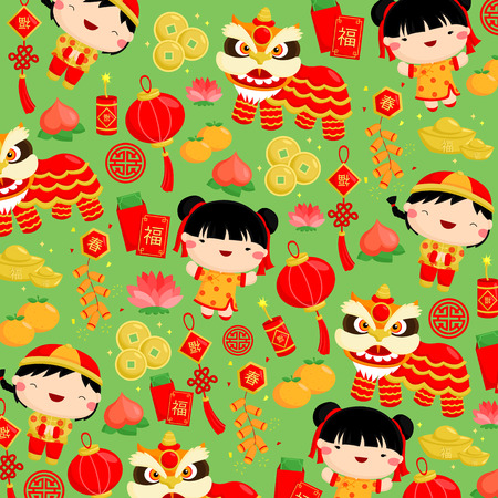 Chinese New Year Hintergrund