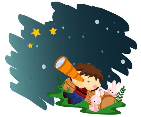 observing: Stargazing